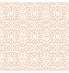 White fantasy seamless pattern background vector