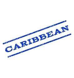 Caribbean watermark stamp vector