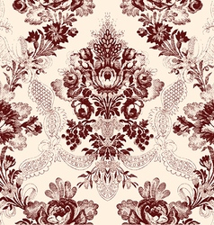 15 Abstract hand-drawn floral seamless pattern vector image vector image