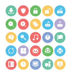 Communication icons 2 vector