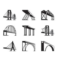 Different bridges in perspective vector
