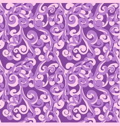 Gorgeous violet repeating pattern vector