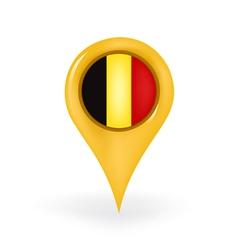 Location belgium vector