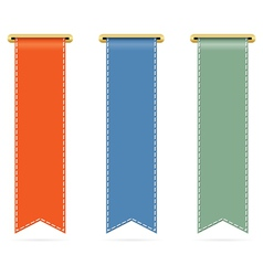 Vertical banners vector