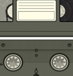 Video tape cassette vector