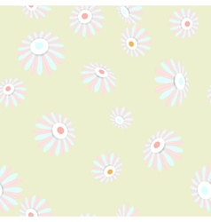 Bright seamless banner with flowers EPS 10 vector image