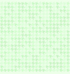 Green houndstooth pattern seamless vector