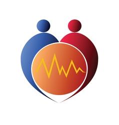 Healthcare symbol vector image vector image