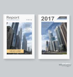 poster brochure vector image vector image