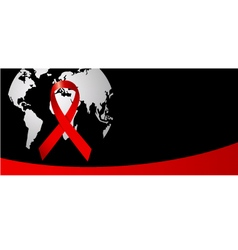 Wold Aids day vector image vector image