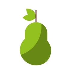 Pear cfresh fruit drawing icon vector