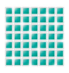 Field of green squares vector