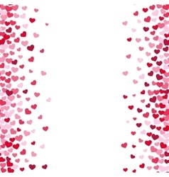 Lovely romance valentine white backgrouns with vector