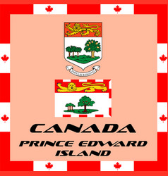 official government elements of canada - prince vector image