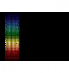 rainbow spectrum banner vector image