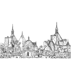 Sketch of London vector image