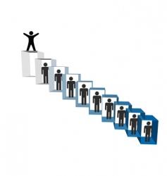 Organizational chart vector