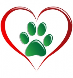 love animals vector image
