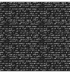 Seamless background of abstract handwriting vector