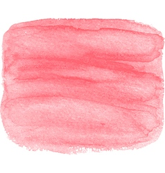 Abstract watercolor hand paint pink texture vector