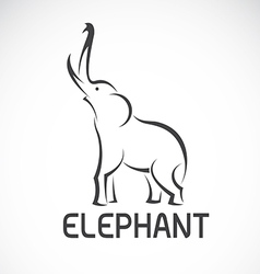 Images of elephant design vector