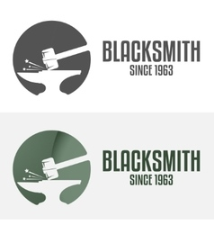 Set of logo badge label emblem and logotype vector