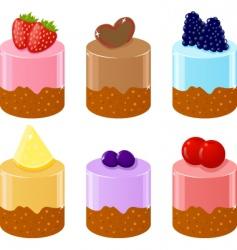 shortcakes vector image