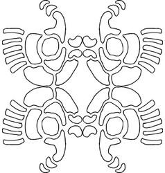 Wallpaper pattern 7-4 vector