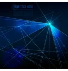 Abstract laser lights background vector