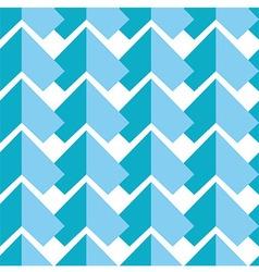 Geometric pattern in blue vector