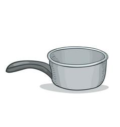 digital painting doodle bucket vector image vector image