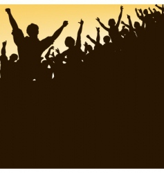 High crowd vector