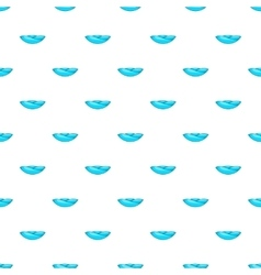 Wave pattern cartoon style vector image
