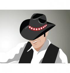 2008133 cowboy vector image vector image