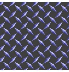 diamond pattern background vector image