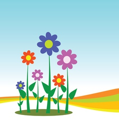Flower for background vector