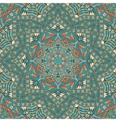 Abstract geometric seamless pattern vintage vector