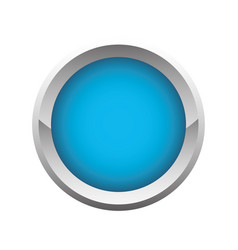 Button icon image vector