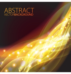 Futuristic abstract glowing background vector image vector image