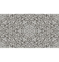 Intricate fantasy contrast seamless pattern vector