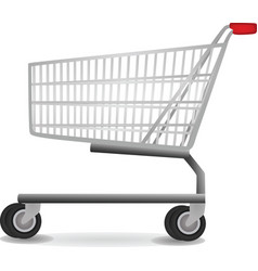 shopping chart vector image vector image