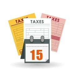 Taxes editable icon vector