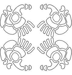 Wallpaper pattern 7-5 vector