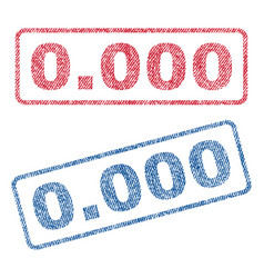 0000 textile stamps vector image vector image