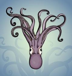 Kraken vector image