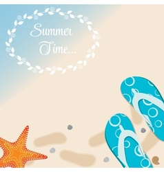 Summer holidays poster vector