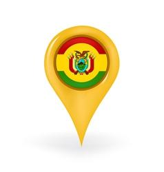 Location bolivia vector