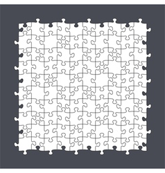 Seamless Puzzle Template vector image vector image