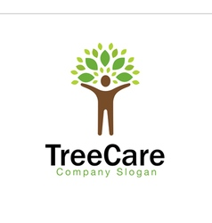 Tree Care Design vector image vector image