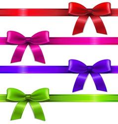 Big Set Ribbons vector image